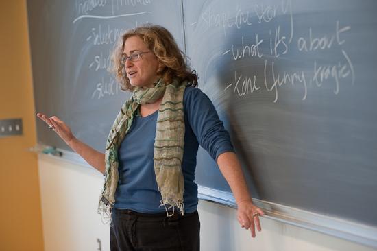 Teacher at the Chalkboard
